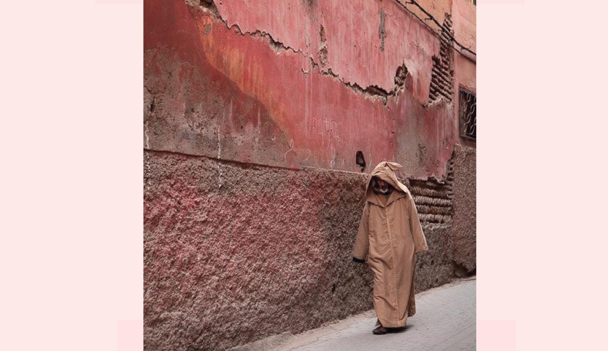 Inaspettato e spettacolare scenario in Marocco per l'ispirazione della collezione Autunno